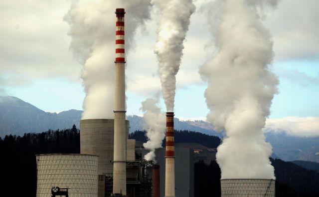Termoelektrarna Šoštanj. FOTO: RomanŠipić/Delo