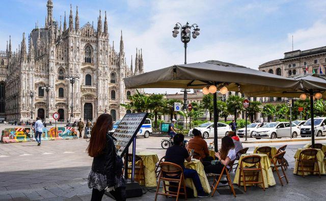 Vzpostavitev sklada bi lahko Italijo, eno od ustanoviteljic EU, po mnenju analitikov spremenila iz neto plačnice v neto prejemnico evropskih sredstev. Foto AFP