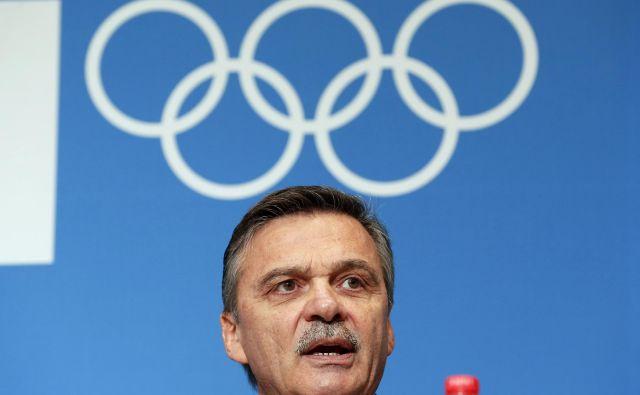 Rene Fasel vodi Mednarodno hokejsko zvezo že od leta 1994. FOTO: Reuters