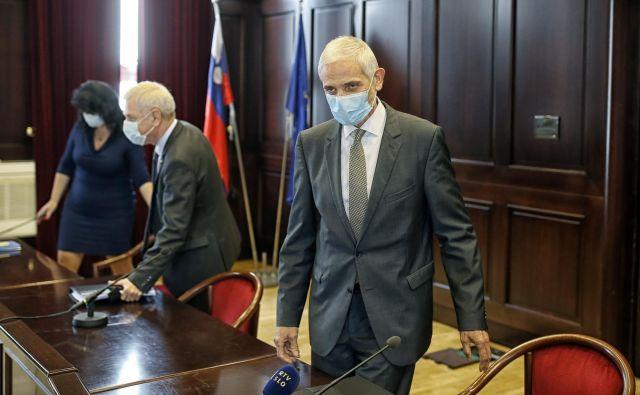 Uspešno poslujemo in smo na povsem primerljivi visoki ravni z drugimi sodnimi sistemi v EU, je prepričan predsednik vrhovnega sodišča Damijan Florjančič. Foto Blaž Samec