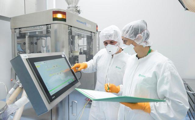 Za farmacevtska podjetja je bil covid-19 poslovno blagodejen. Foto Krka