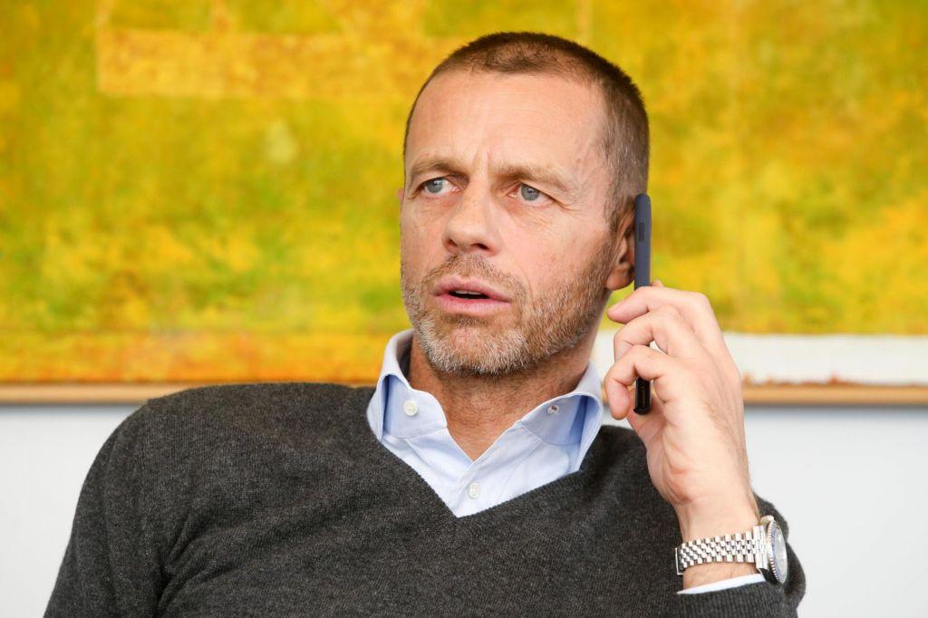 FOTO:Aleksander Čeferin bi stavil milijon dolarjev, da z Eurom 2021 ne bo težav