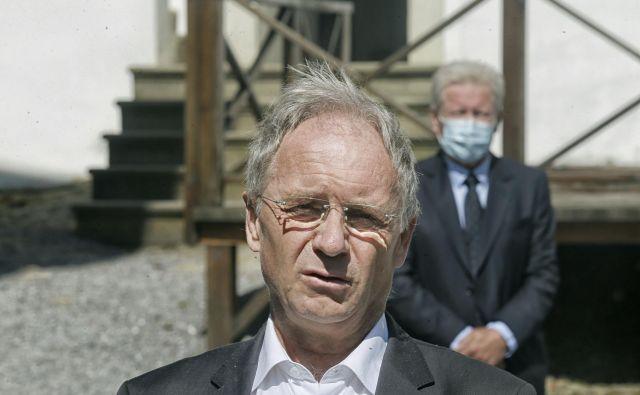 Minister za notranje zadeve Aleš Hojs. FOTO: Blaž Samec/Delo
