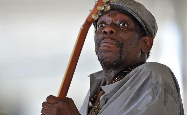 Lucky Peterson je bil uspešen glasbenik, vedno na turnejah. FOTO: AFP