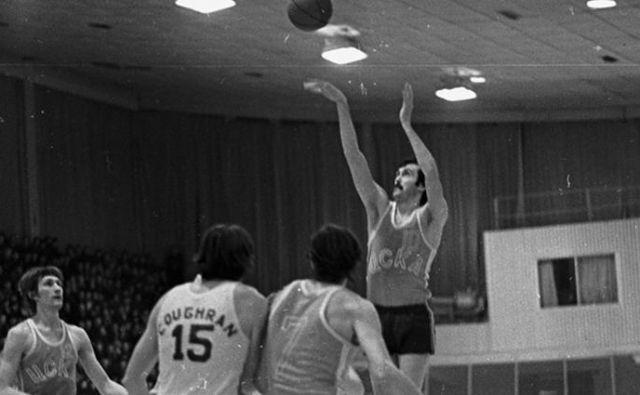 Sergej Belov je več kot desetletje blestel v dresu slovitega moskovskega kluba. FOTO: cskabasket.com
