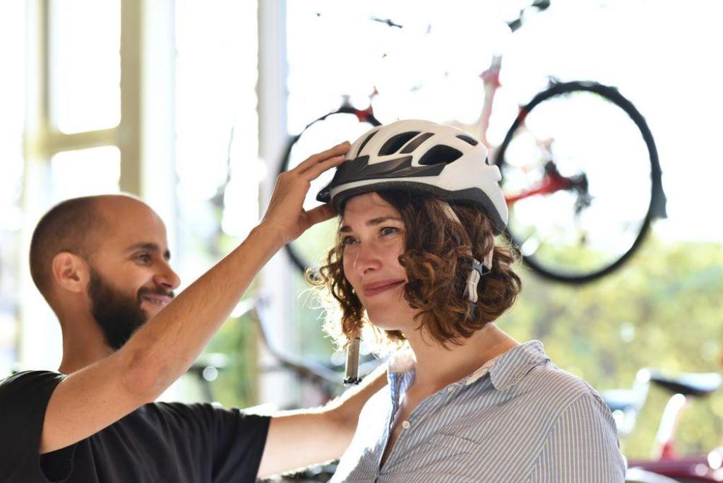 FOTO:Čelada mora biti tako dobra, da je ne čutite na glavi