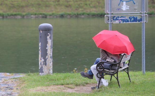 Sreča je, da slabega vremena ni... Foto Tadej Regent/delo Regent Tadej