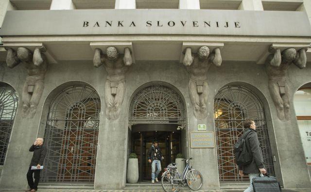Banka Slovenije je stroga pravila za pridobitev posojil prilagodila krizni realnosti. FOTO: Leon Vidic/Delo
