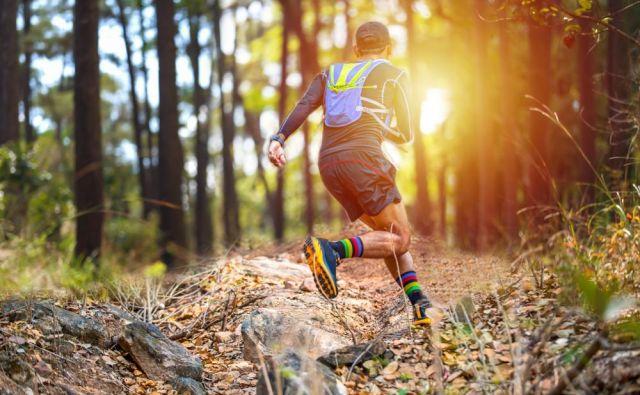 Dobra stvar takega teka je, da ne hlepimo po mnogo pretečenih kilometrih, pač pa po doživetju v naravi. FOTO:Shutterstock