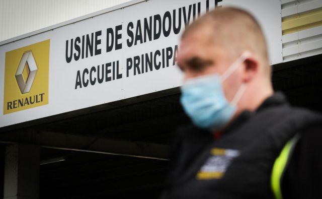 Francoski Renault je v težavnem položaju, pričakuje pet milijard evrov državnega posojila. FOTO: AFP