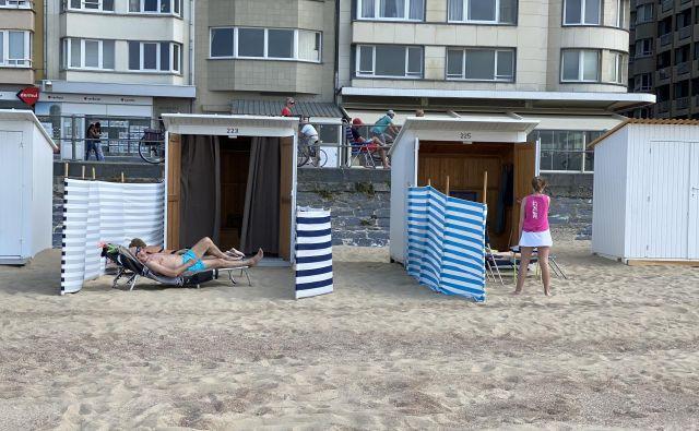 Na belgijski obali poleti spet pričakujejo gnečo. FOTO: Tomislav Krasnec