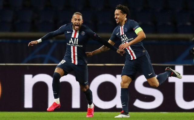 Paris St. Germain je ubranil naslov prvaka za zeleno mizo, a zaradi svoje premoči v Franciji ni bil sporen. Tudi v naslednji sezoni bo izrazit favorit. FOTO: UEFA
