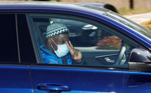 Tottenhamov Serge Aurier v kriznih zdravstvenih časih ni discipliniran. FOTO: Reuters