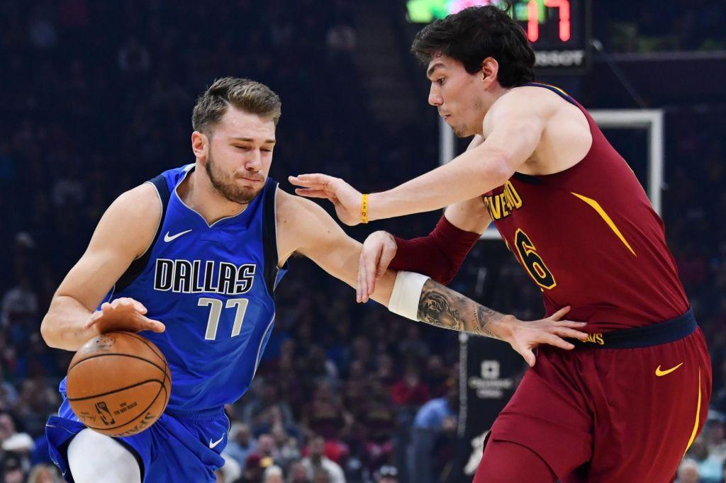 Dončić v idealni peterki NBA