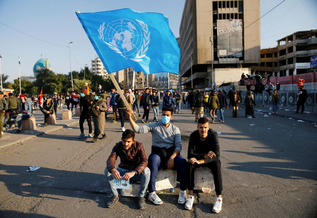 Stotine protestnikov v Iraku ubitih, mučenih in ugrabljenih