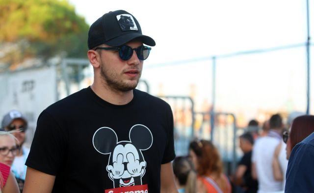 Luka Dončič bi se gotovo dobro znašel v Disneyjevem parku. FOTO: Cropix