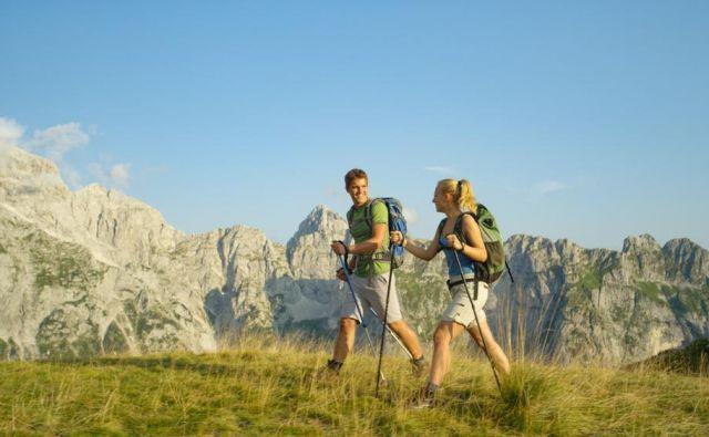 Opremo izberemo glede na letni čas in vremenske razmere ter zahtevnost in dolžino ture.FOTO:Shutterstock