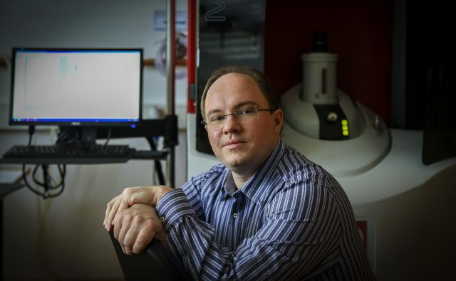 Dr. Primož Koželj, fizik. FOTO: Jože Suhadolnik