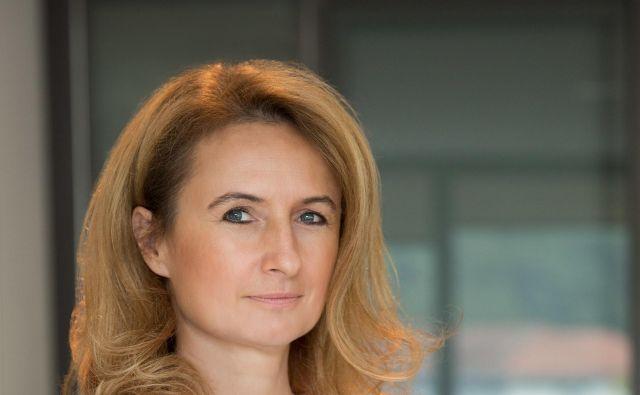 Mojca Leskovar, predsednica uprave Thermana Laško Foto Rok Dezelak