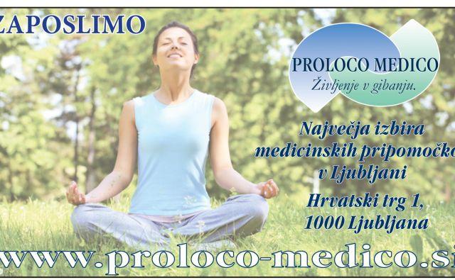 Glavna dejavnost podjetja Proloco-medico so medicinski in ortopedski pripomočki ter storitve, povezane z njimi. FOTO: Proloco-medico