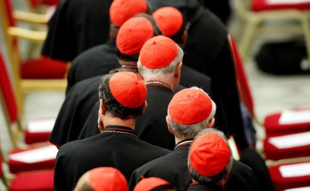 Sodišča so presodila, da cerkvene pravne osebe za (kaznivo) početje duhovnikov odgovarjajo tudi odškodninsko. FOTO: Reuters