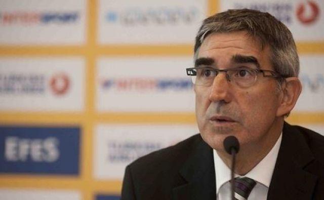 Premeteni Jordi Bertomeu je zaman iskal izhod iz kriznih razmer. FOTO: Euroleague