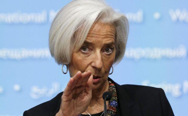 V ECB, ki jo vodi Christine Lagarde, se očitno pripravljajo tudi na scenarij brez sodelovanja Nemčije pri odkupih obveznic. FOTO: Reuters
