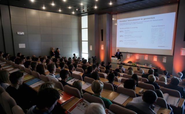 Na deseti BioCamp se je prijavilo rekordnih 191 študentov iz 24 držav študija. Leto FOTO: Jož�e Suhadolnik