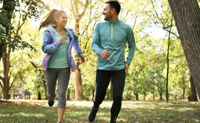 Enkrat na teden tecite z nekom, ki je počasnejši od vas. FOTO: Shutterstock