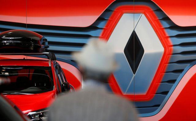 Renault je eno tistih evropskih avtomobilskih podjetij (med drugim so to še Fiat Chrysler, Jaguar Land Rover), ki potrebuje nujno likvidnostno posojilo domače države – šlo naj bi za pet milijard evrov. Foto Reuters