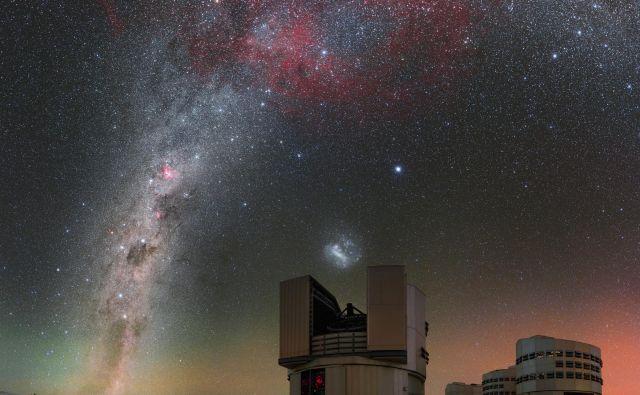 Pomembno vlogo pri določanju lastnosti eksoplanetov ima Zelo velik teleskop (VLT) Evropskega južnega observatorija v čilski puščavi Atakama. Fotografije Eso, Nasa