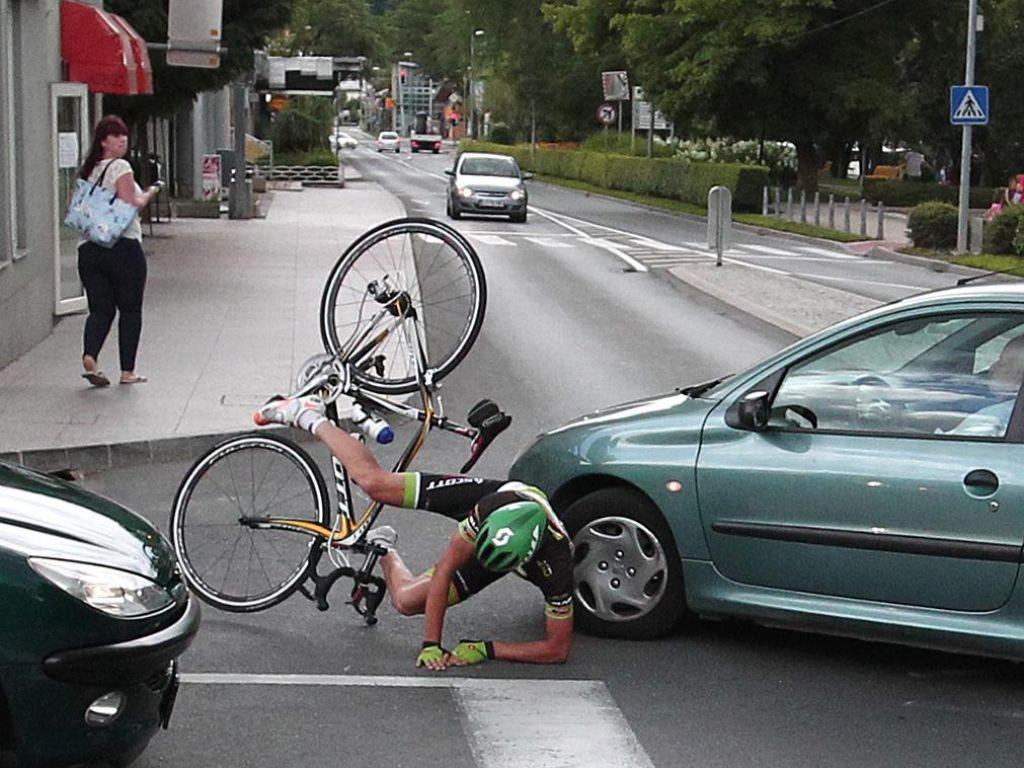 Vsak drugi kolesar je za smrt odgovoren sam