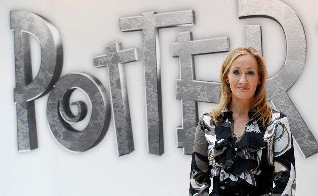 J. K. Rowling je zgodbo napisala pred več kot desetimi leti kot pravljico za svoje otroke. FOTO: Suzanne Plunkett/Reuters