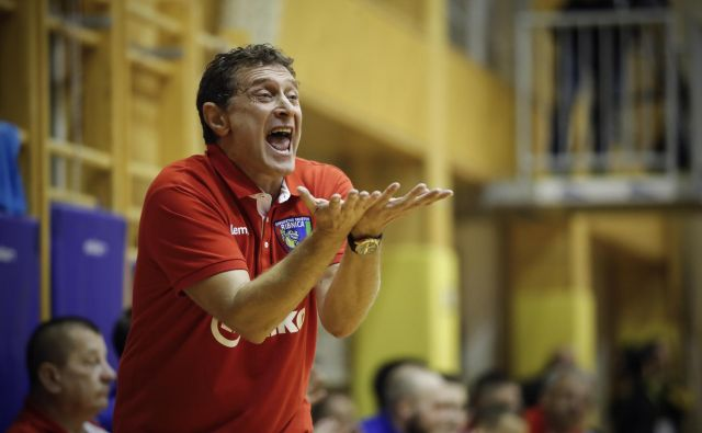 Hrvaški rokometni strokovnjak Siniša Markota se je vrnil v Slovenijo, kjer bo vodil Mariborčane. FOTO: Uroš Hočevar/Delo