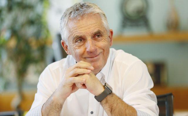 Minister za zdravje Tomaž Gantar: »Vse bom naredil, da bom naloge izpolnil.« Foto: Leon Vidic/Delo