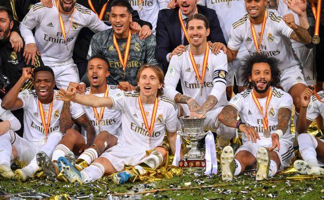 Real Madrid ostaja najvrednejši klub. FOTO: AFP
