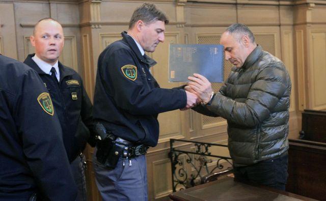 Senad Muhamedagić je bil obsojen na deset let in pol zapora.<br /> Foto: Mavric Pivk