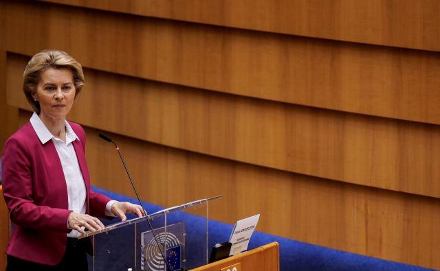 Po predlogu evropske komisije pod vodstvom Ursule von der Leyen se delež Slovenije iz sklada za pravičen prehod poveča na 538 milijonov evrov. FOTO: AFP