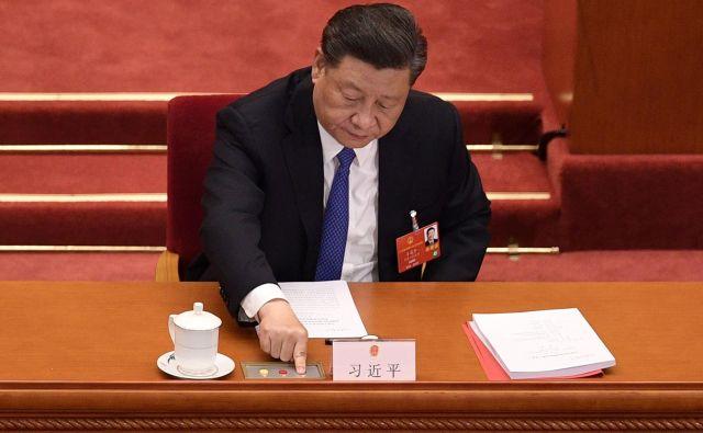 Kitajska že dolgo ni bila tako centralizirana in podrejena volji enega človeka, kot je pod vodstvom Xi Jinpinga. Foto AFP