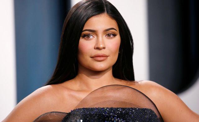 Kylie Jenner na lanski zabavi ob 92. podelitvi oskarjev v Los Angelesu v Kaliforniji. Foto Danny Moloshok/ Reuters
