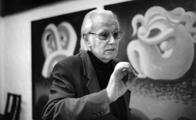 Karel Pečko, kot ga je leta 2001 v Slovenj Gradcu ujela v objektiv znamenita fotografinja Inge Morath.
