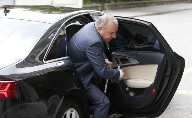 Finančni minister Andrej Šircelj bo moral letos še iskati posojila za pokrivanje primanjkljaja državnega proračuna. FOTO: Matej Družnik/Delo