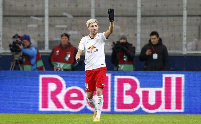 Za najbogatejši avstrijski klub, Red Bull Salzburg, je pred odhodom v nemško bundesligo igral tudi naš rojak Kevin Kampl. FOTO: Reuters