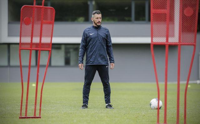 Robert Koren želi čim bolje prenesti bogate izkušnje na mlajše nogometaše. Foto Uroš Hočevar