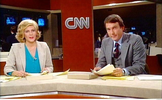 Prva ura CNN na današnji dan pred 40 leti. Foto CNN
