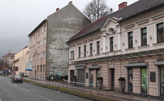 Najprej bodo obnovili pločnik in kolesarsko stezo med Cirkusom (Kinom Vič) in Langusovo na vzhodni strani Tržaške. FOTO: Dejan Javornik