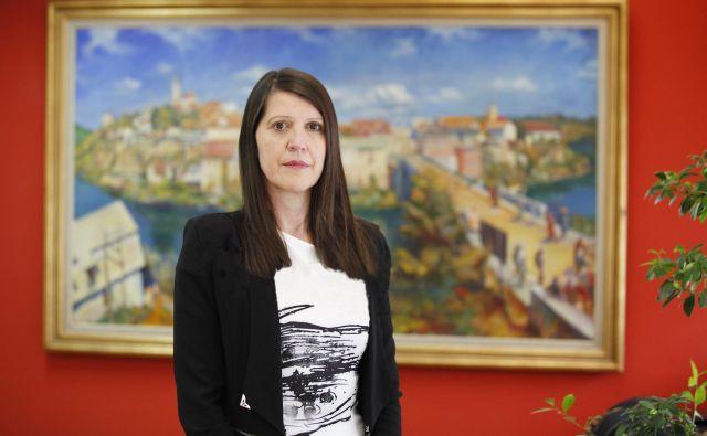 Jasna Dokl Osolnik je direktorica Dolenjskega muzeja. Foto Boštjan Pucelj