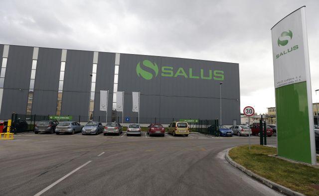 Čisti dobiček Salusa se je medletno povečal za 16 odstotkov na nekaj manj kot 2,1 milijona evrov. FOTO Aleš Černivec/Delo