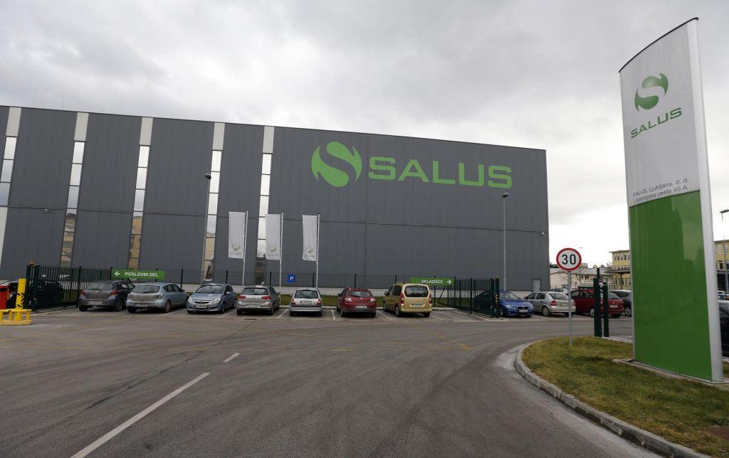 Salus povečal prodajo za petino