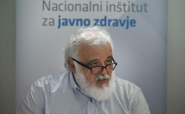 Milan Krek, direktor Nacionalnega inštituta za javno zdravje svari, da je lahko drugi val epidemije hujši kot prvi. Foto Blaž Samec